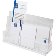 In Room Forms Organizer Clear Plastic, Case of 12
