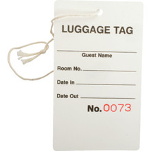 Luggage Tag Guest Check Package Of 1000
