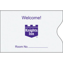 Knights Inn Keycard Envelope, Box of 500