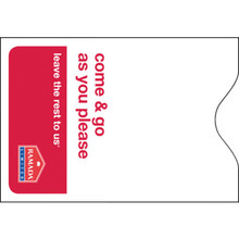 Ramada Limited Keycard Envelope, Box of 500