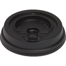 Hilton 12 Oz Black Dome Hold-N-Go Lock Lid Case Of 1200