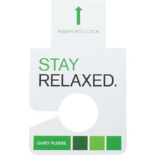 Holiday Inn Do Not Disturb Electronic Lock Insert Package Of 100