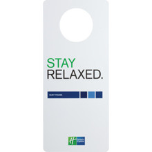 Holiday Inn Express Do Not Disturb Door Hanger Package Of 100