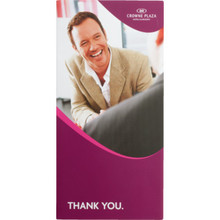 Crowne Plaza Check-Out Folder Package Of 1000