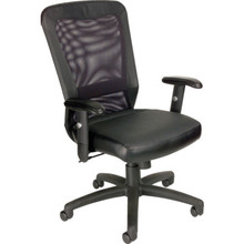 Boss Black Mesh Task Chair