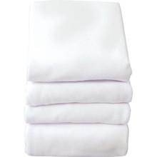 Fitted Portable Crib Sheets White Package Of 6