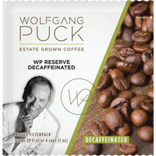 Wolfgang Puck Signature Coffee 4-Cup Filter Pouches Decaffeinated Case Of 150