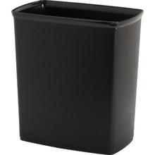 9 Quart Plastic Trash Can Black