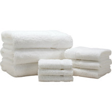 Cotton Bay Essex Square Wash Cloth Cam 12x12 1 Lb/Dozen White Case Of 300