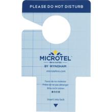 Microtel Inn and Suites Do Not Disturb Electric Lock Insert, Case of 100