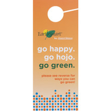 Howard Johnson EarthSmart Conservation Door Hanger, Case of 100