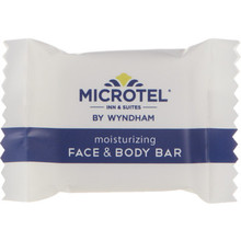 Microtel Inn and Suites Face And Body Soap 0.8 Oz Case Of 600