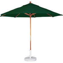 7-1/2' Market Umbrella Forest Green