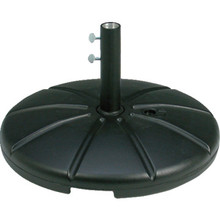 Umbrella Base Black Resin 35 Lbs