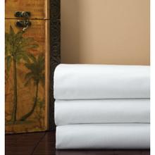 Ashby T200 81x120 Flat Sheet White 24/Cs