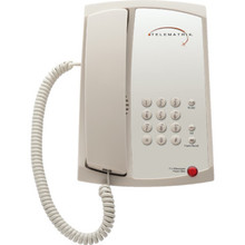 TeleMatrix 3100MWB Single Line Ash Telephone