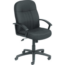 Boss Black Upholstered Office Chair
