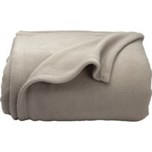 Fleece Blanket Queen 90x90 Mushroom Case Of 10