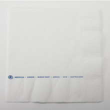 Hilton Beverage Napkin 10x10 2PLY 1 Color Case Of 4000
