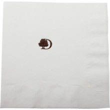 Doubletree Beverage Napkin 2PLY 1 Color Case Of 4000