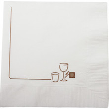 Garden Grill Beverage Napkin 2Ply 1 Color Case Of 4000