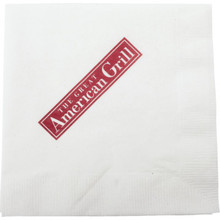 Great American Grill Beverage Napkin 10x10 2PLY 1 Color Case Of 4000