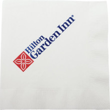 Hilton Garden Inn Beverage Napkin 10X10 2 PLY 2 Color Case Of 4000