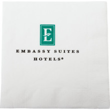 Embassy Suite Beverage Napkin 10X10 2 PLY 2 Color Case Of 4000