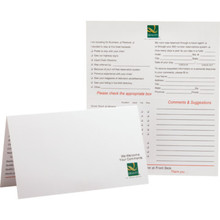 Quality Comment Card, Case of 500