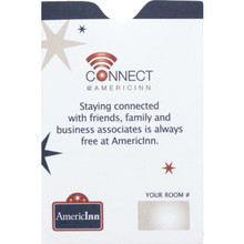 AmericInn Keycard Envelope Case Of 500