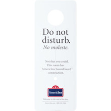 AmericInn Do Not Disturb Door Hanger Case Of 25