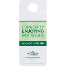 Wingate Do Not Disturb Door Hanger, Case of 100