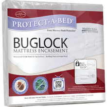 Bug Lock Economy Mattress Encasement 38.5x75.5x8.5 Twin Case Of 12