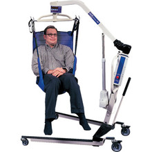 Invacare Reliant Full Body Sling Commode Opening Mesh Polyester Large
