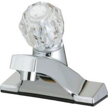 Aspen Lavatory Faucet Acrylic/Chrome Single Handle