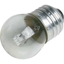 S11 Bulb Value Light 7-1/2W Clear 130V 25pk