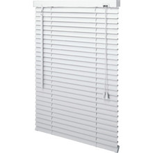 "23x36"" White 1"" Aluminum Horizontal Blind"