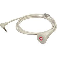 "Nurse Call Cord Sealed Switch 1/4"" Phono Plug 8'"