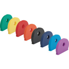 Key Caps Rubber Like Vinyl, Assorted Colors,20/Pk