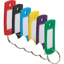 7/8 x 2 ID Tag Assorted Colors, 20/Pk