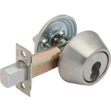 Yale Single Cylinder Deadbolt, SFIC Cylinder Not Inc, 2 3/4 Backset, Grade 2