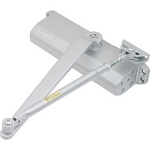 Shield Security Size 4 Heavy Duty Hydraulic Door Closer Aluminum