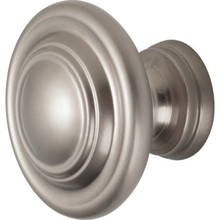 1-3/4 Swirl Bifold Knob Satin Nickel Package of 5