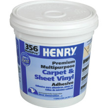 Henry 1 Gallon 356 Carpet and Vinyl Adhesive