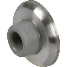 2-1/2 Satin Nickel Concave Wall Door Stop Package of 5
