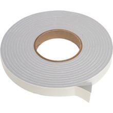"""3/8""""W x 3/16""""H x 17' Vinyl Foam Tape Gray Package of 4"""