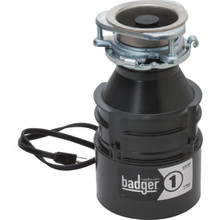 1/3 HP In-Sink-Erator Badger 1 Disposer With Installed Power Cord