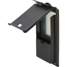 Vertical Top Loading Mailbox Black