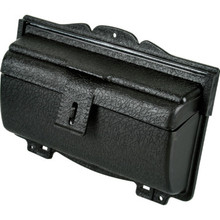 Horizontal Top Loading Mailbox Black