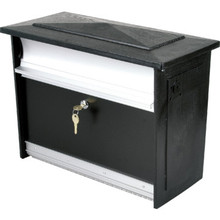 Mailsafe Security Mailbox Black